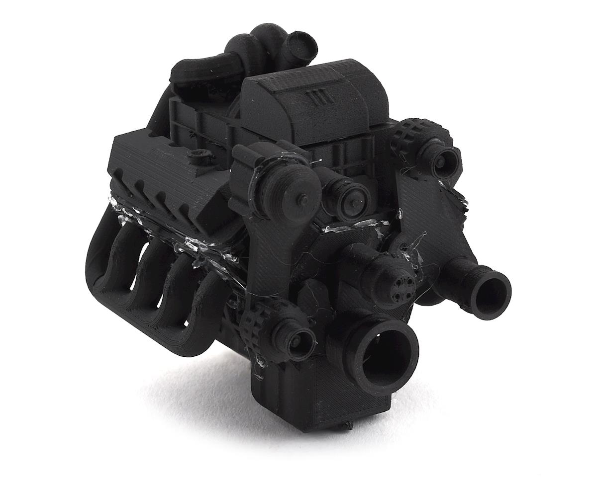 Exclusive RC Scale 7.3 Turbo Diesel Engine Kit (Fits 540 Motor) (Carbon Nylon)