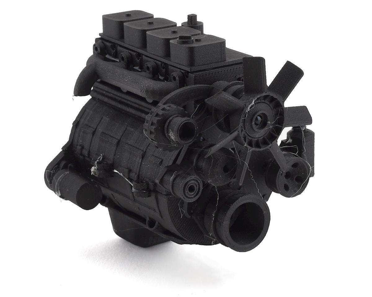 exclusive rc scale 4bt diesel engine kit fits 540 motor. Black Bedroom Furniture Sets. Home Design Ideas