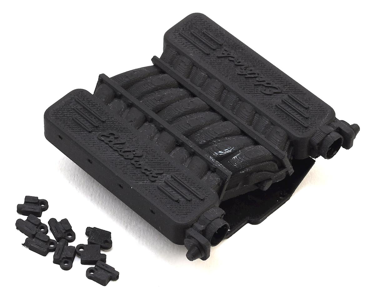 Exclusive RC RC4WD V8 LS Edelbrock Intake Manifold (Carbon Nylon) (RC4WD Heads)