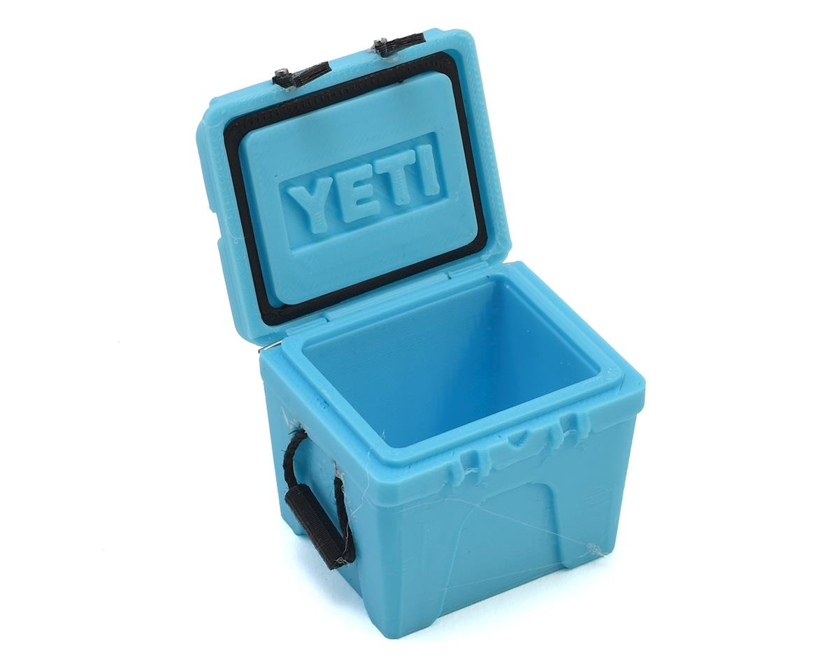 Exclusive RC Scale Yeti 35 Gal Cooler (Blue)