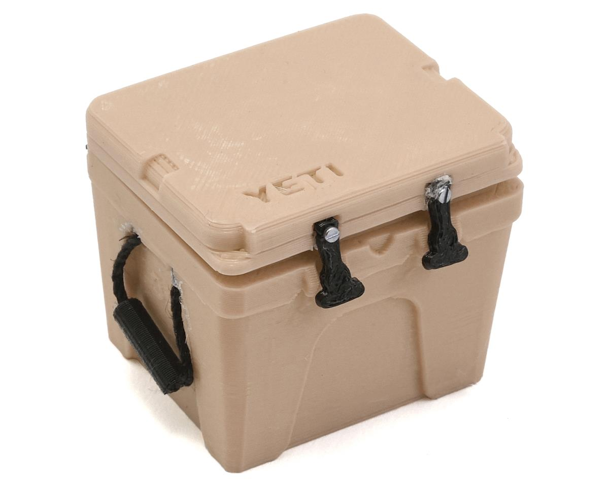 Exclusive RC Yeti 35 Gal Cooler (Tan) (Vaterra Ascender)