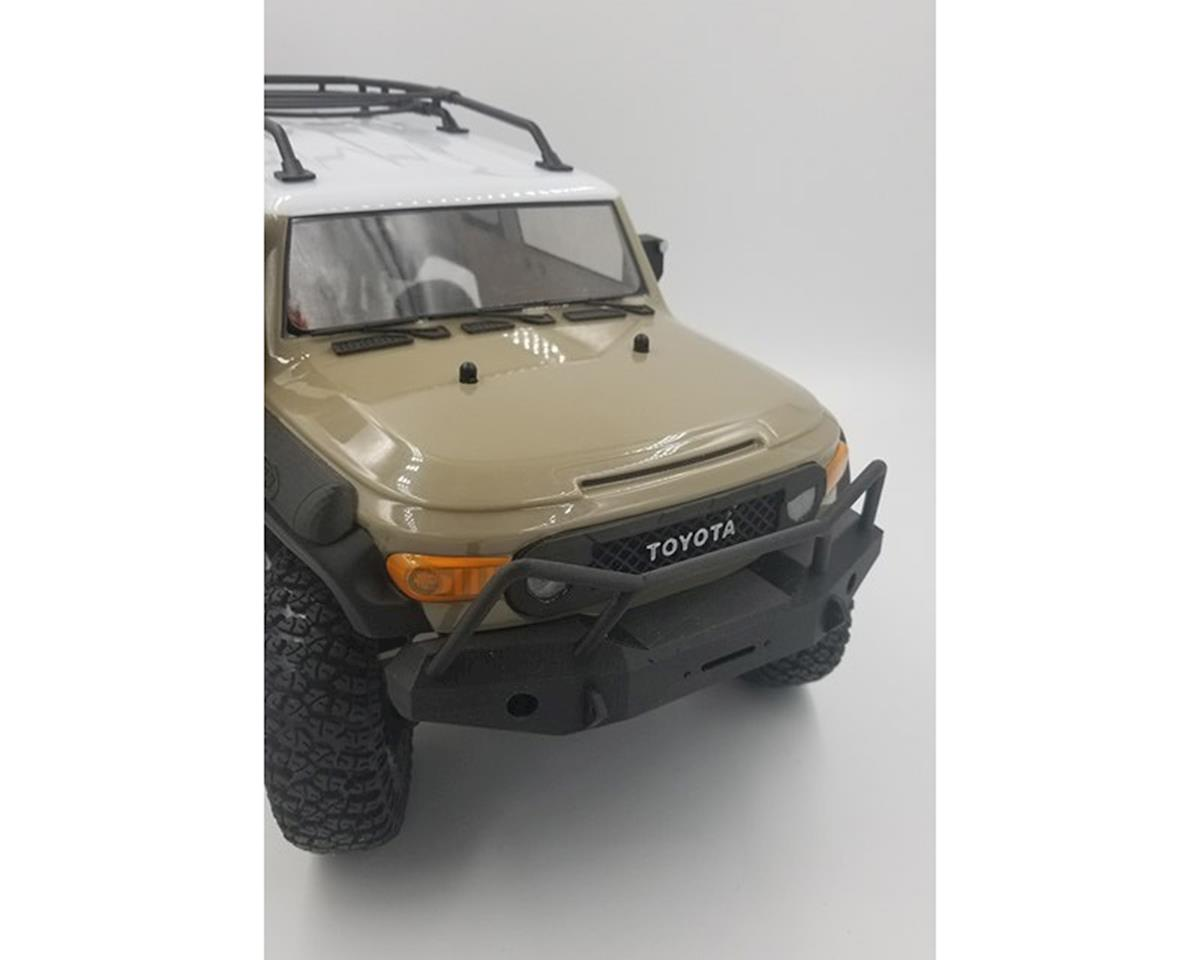 Exclusive RC HPI Venture Expedition Style Front Bumper (Black)