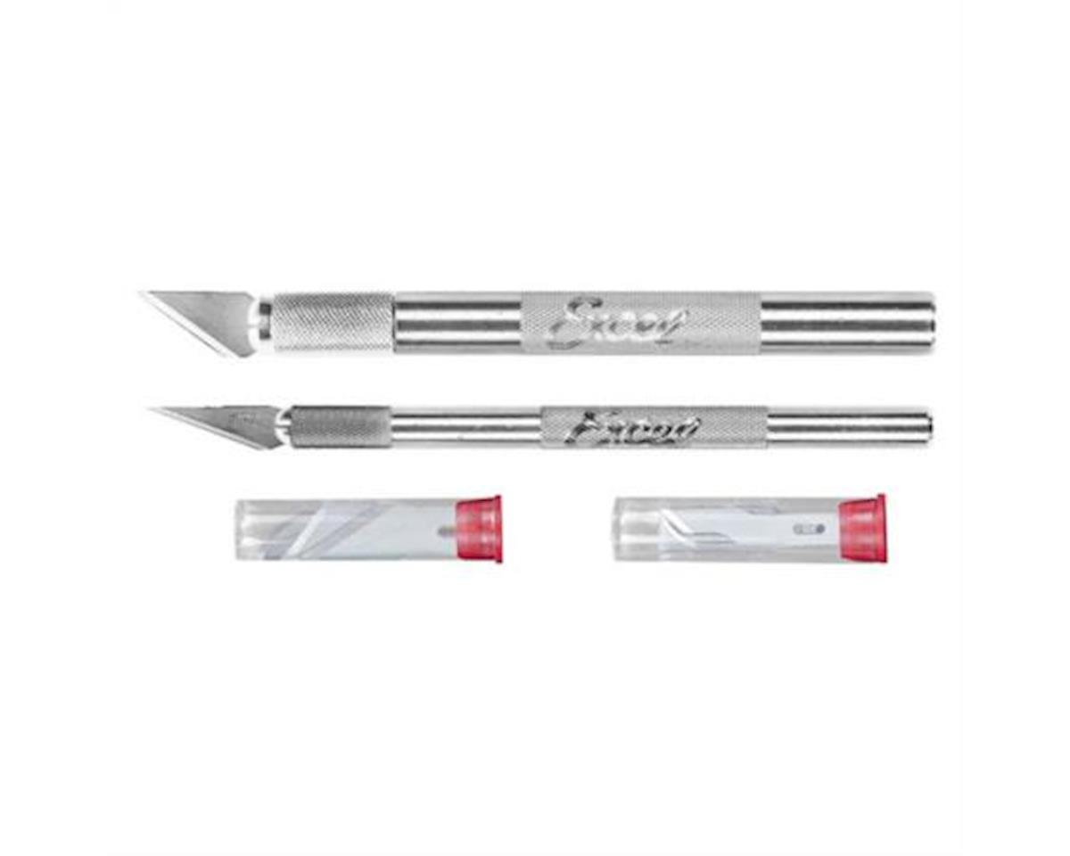 Excel Hobby Knife Set:K1 & K2 with 10 Blades