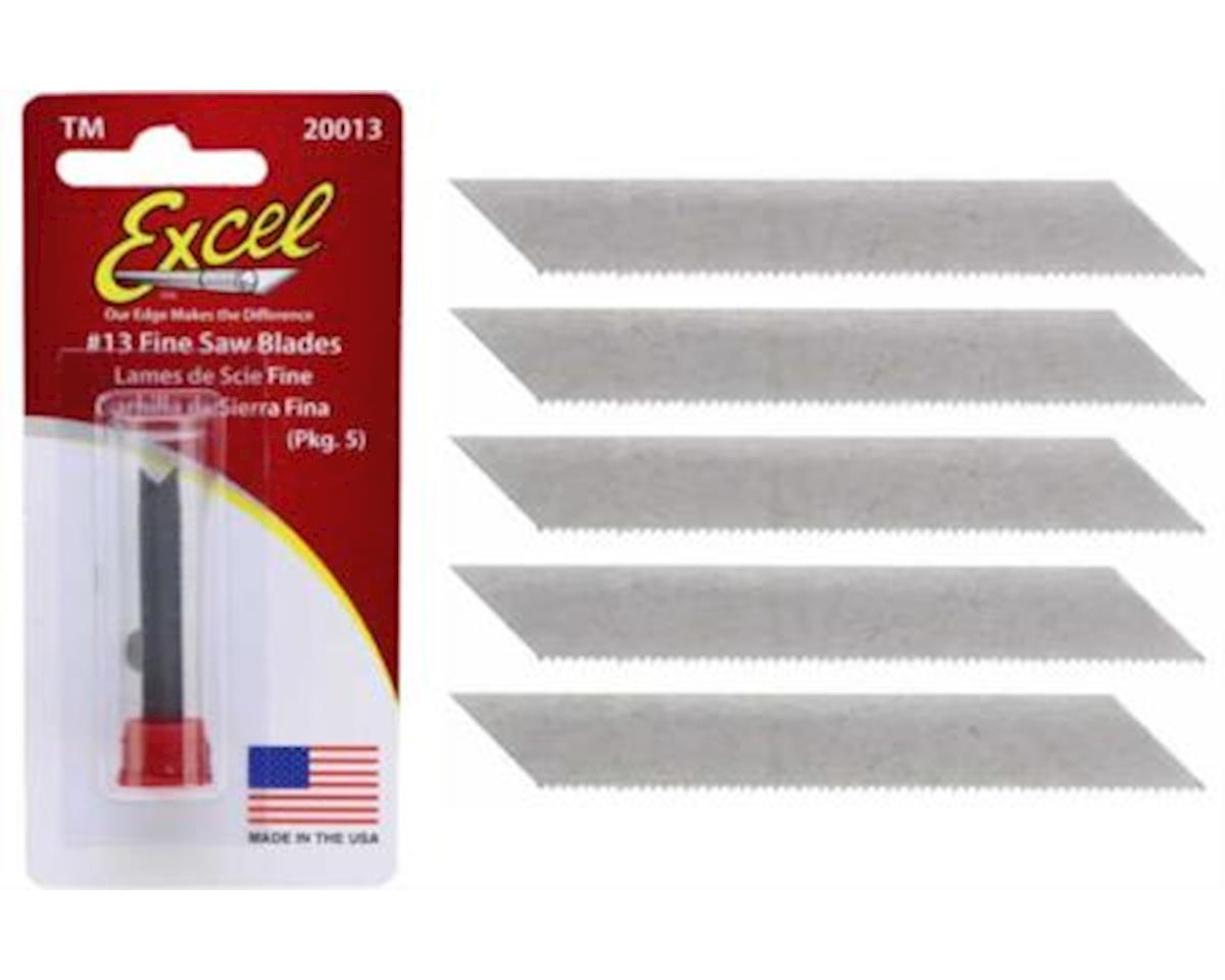 Excel #13 Fine Saw Blades (5) (replaces XAC-213)