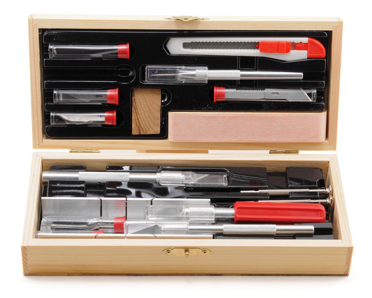 Deluxe Boxed Knife Set by Excel