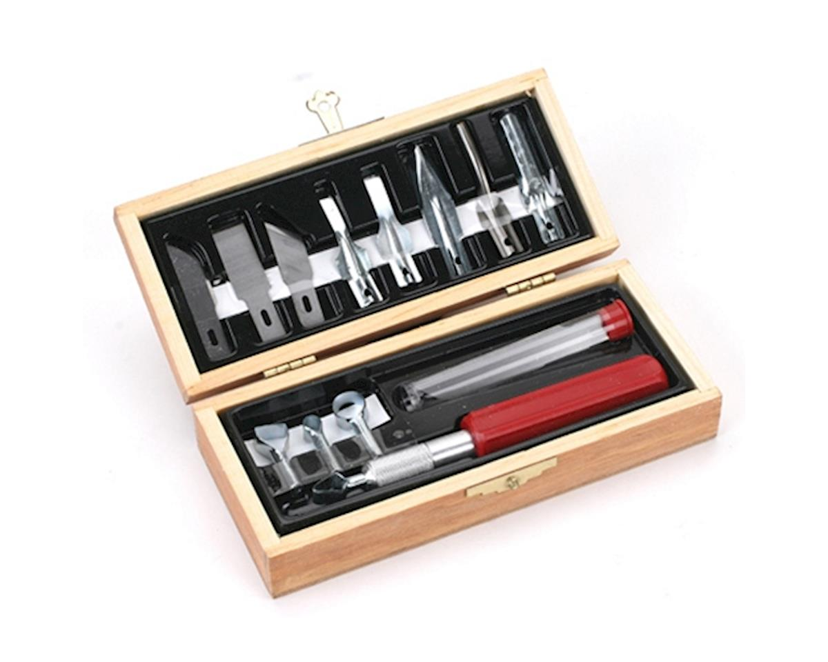 Woodworking Set, Wooden Box, Carded by Excel