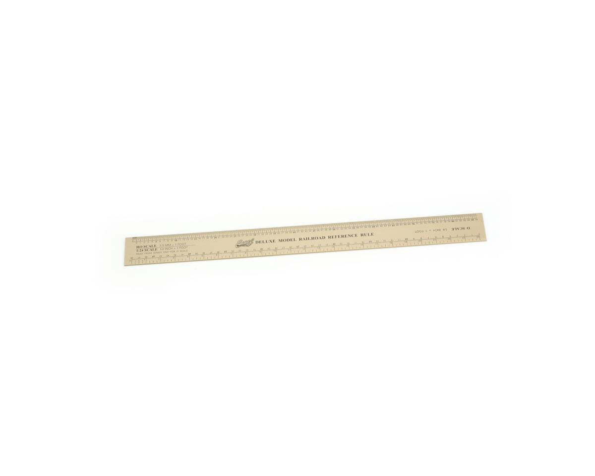 Excel Deluxe Model Railroad Ruler, Alum.