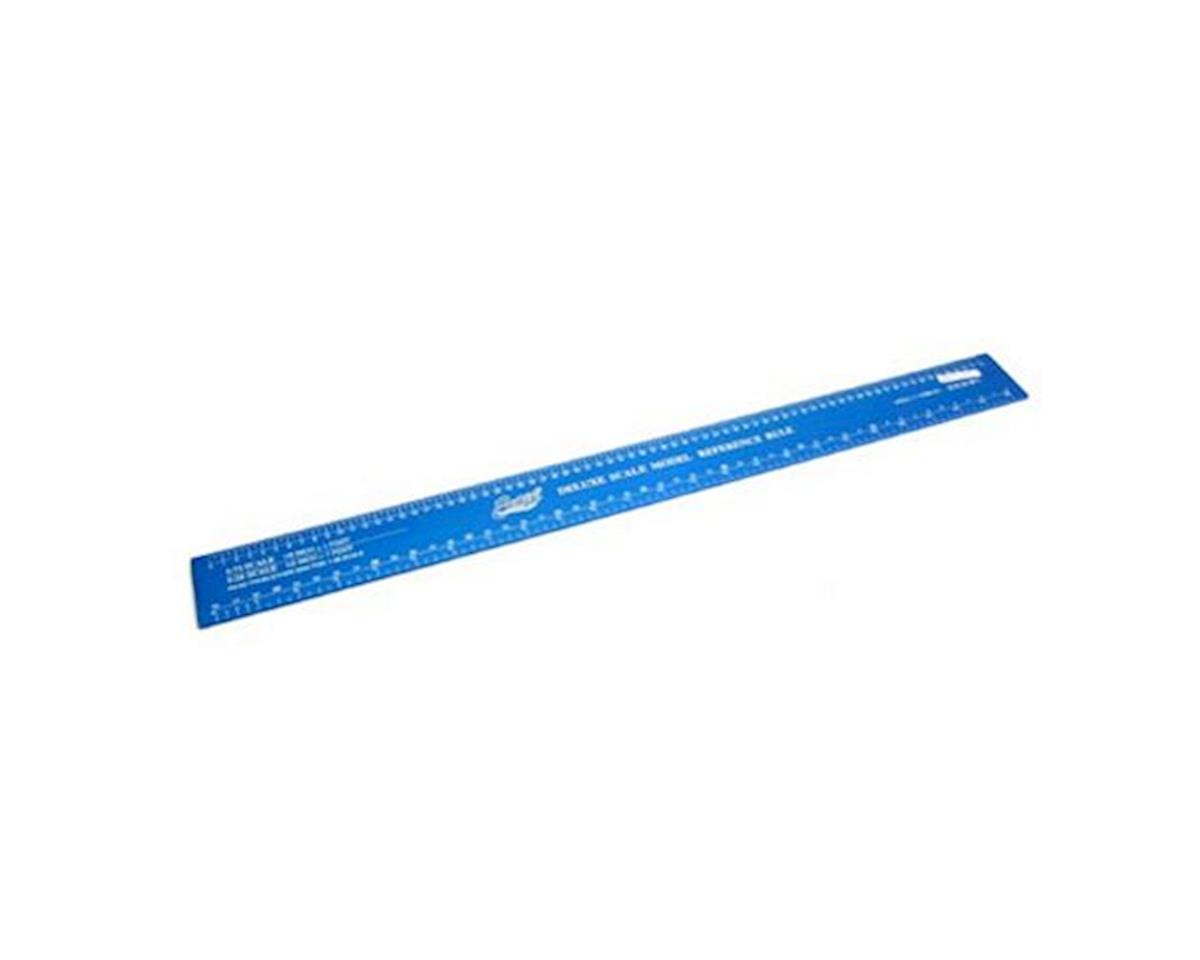 Deluxe Scale Model Ruler, Aluminum by Excel