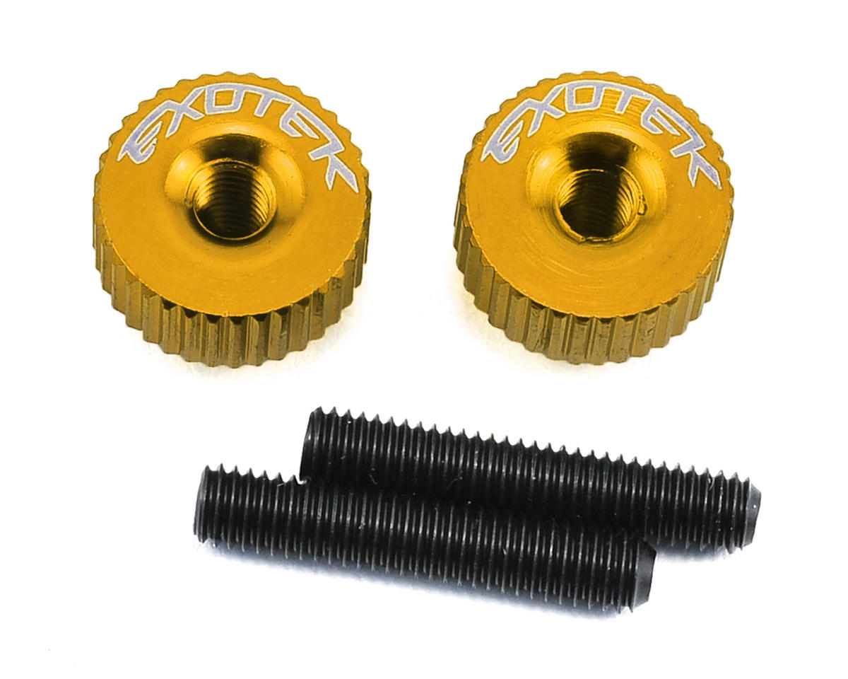 Exotek Racing M3 Twist Nut (Gold) (Serpent Spyder SRX-2 SC)