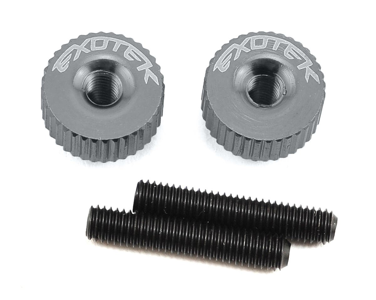 Exotek M3 Twist Nut (Gun Metal) (S-Workz S104)
