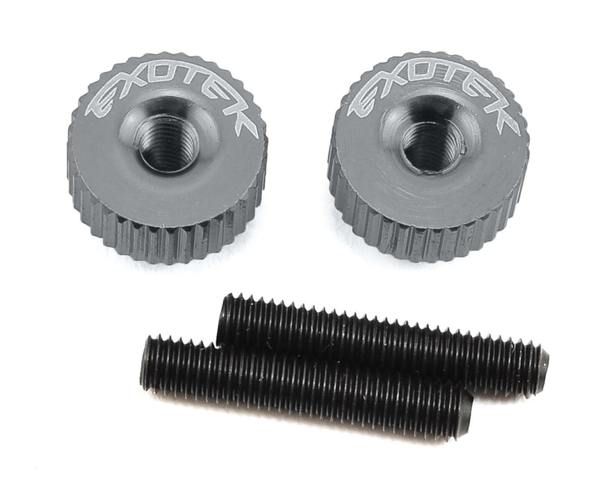 Exotek Racing M3 Twist Nut (Gun Metal) (S-Workz S104)