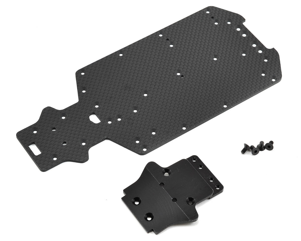 Exotek Racing Mini 8IGHT Carbon Bottom Plate Set