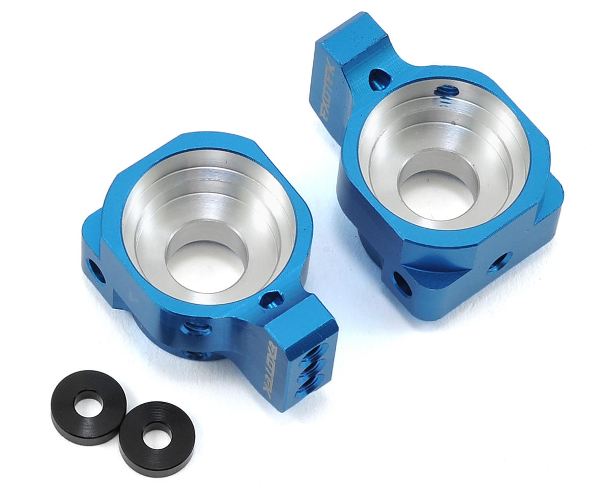 Exotek Racing SC10 4X4 Aluminum Rear Hub Set (Blue)