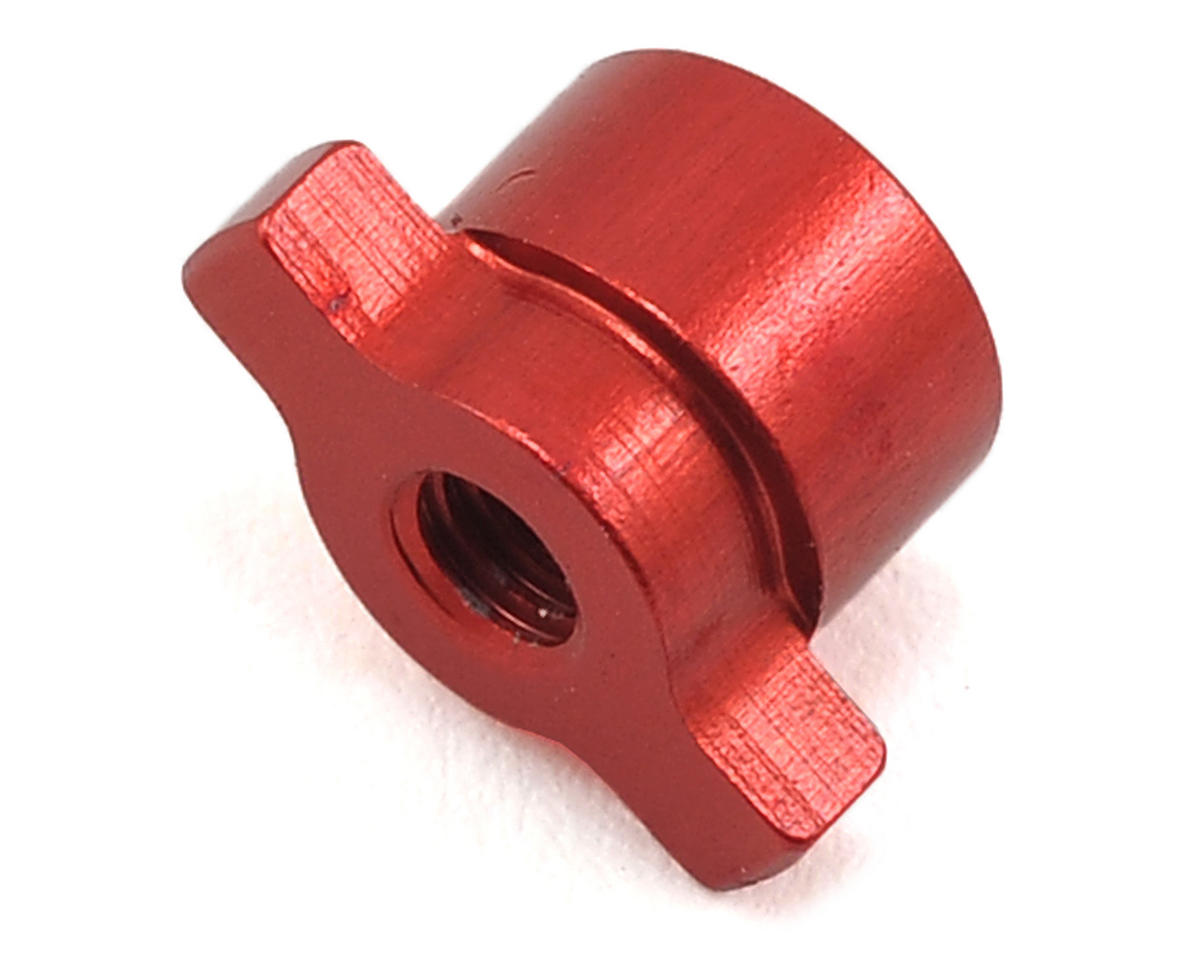 Exotek RB6 Aluminum Differential Nut (Red)