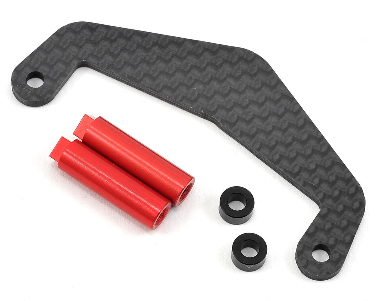 Exotek Racing RB6 Carbon Battery Strap Brace Set