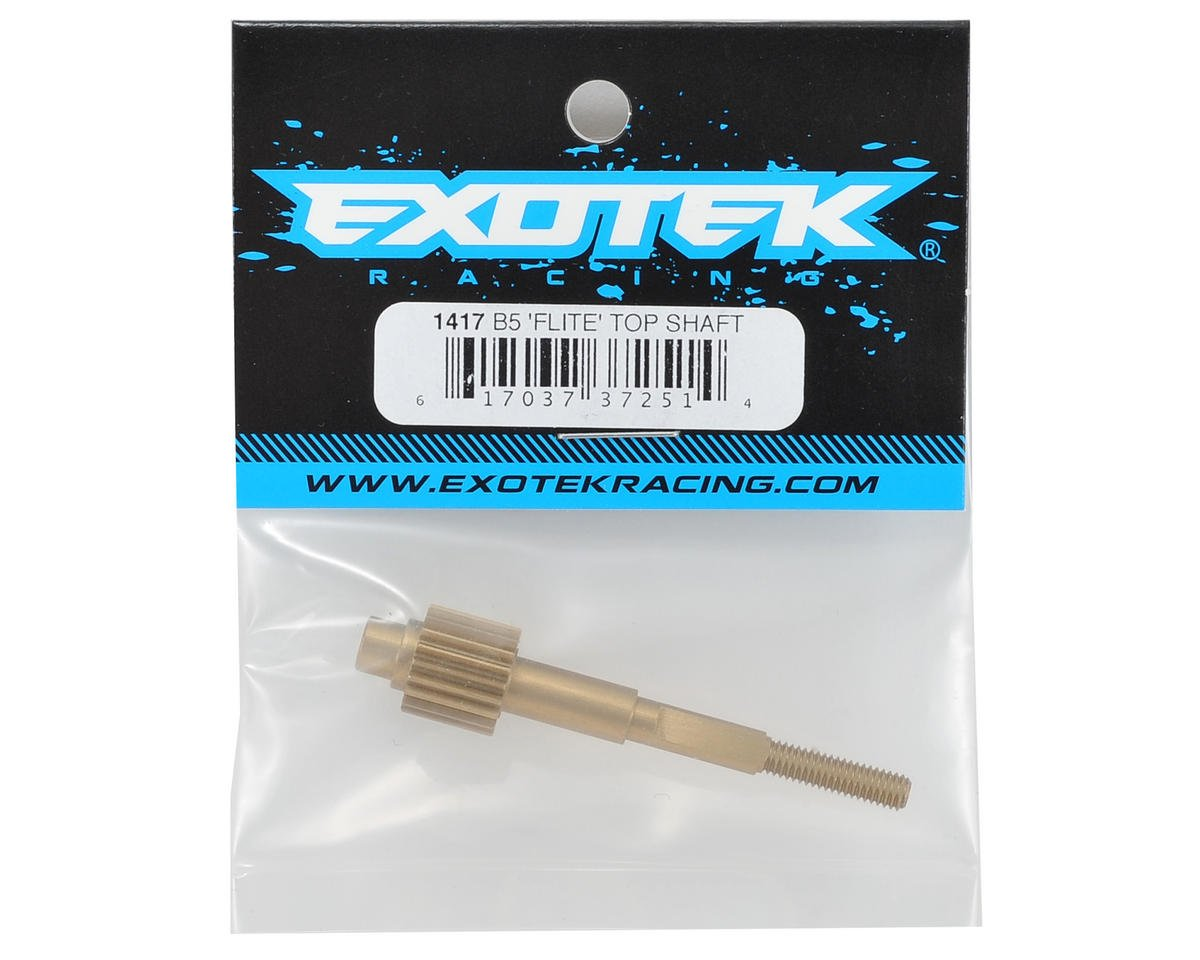 "Exotek B5 ""Flite"" Aluminum Top Shaft (V1 Gearbox)"
