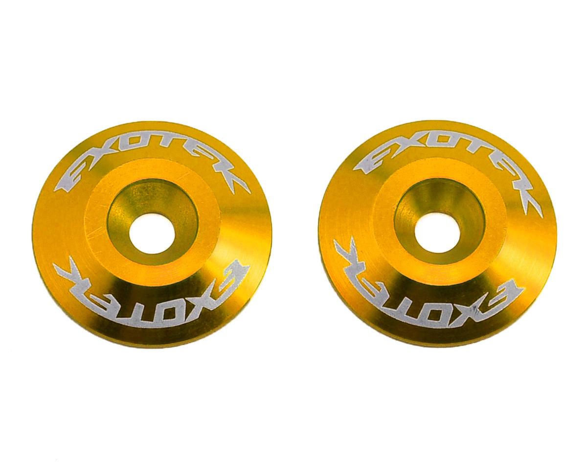 Exotek Racing Aluminum Wing Buttons (2) (Gold)
