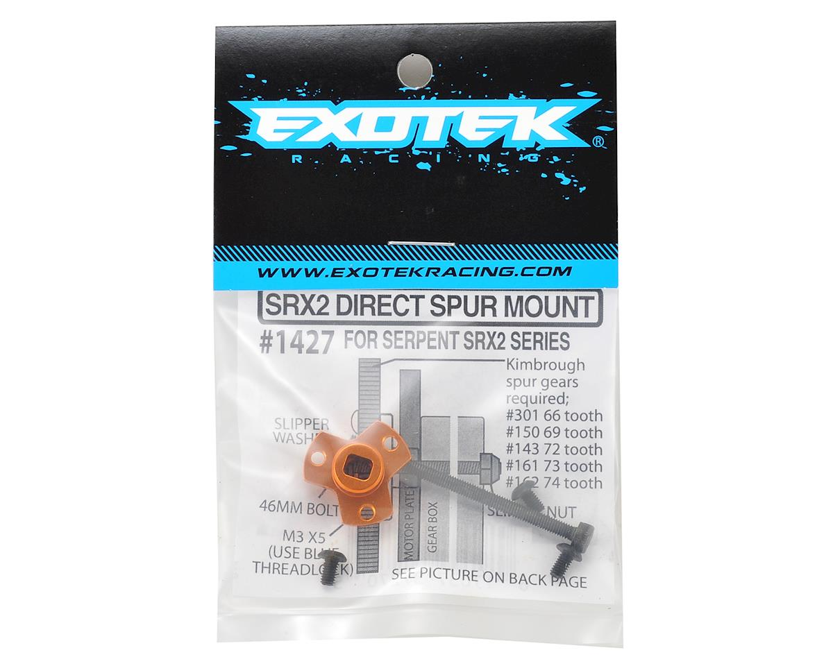 Exotek Racing SRX-2 Direct Spur Hub Mount