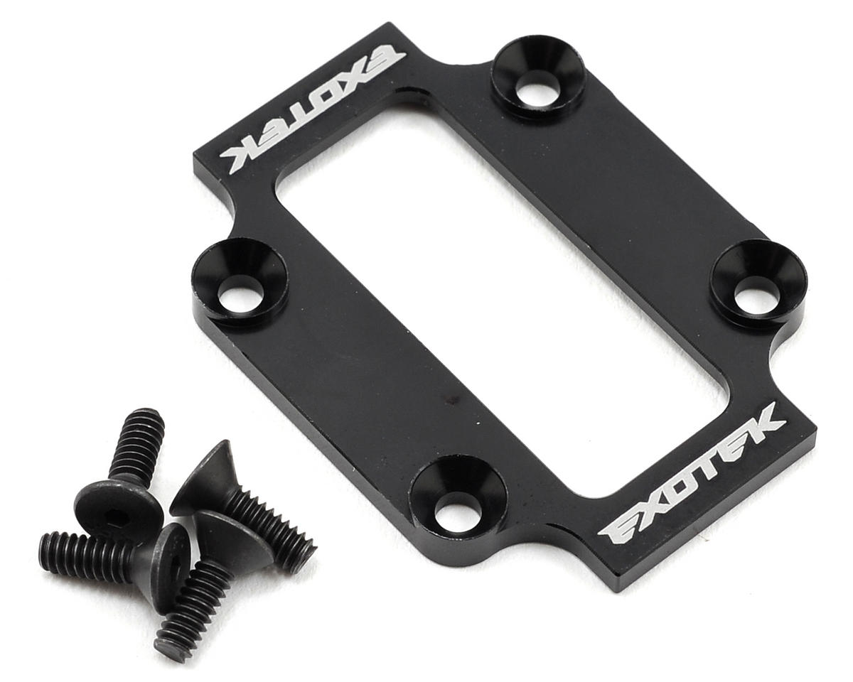 Exotek Racing B44.3 Aluminum Low Profile Spur Cap (Black)