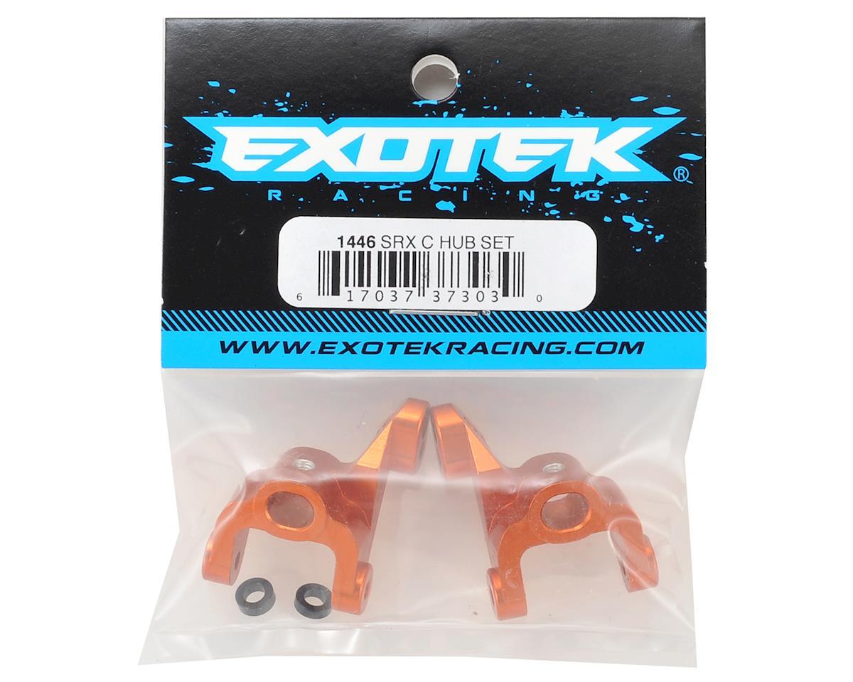 Exotek Racing SRX-2 Aluminum Caster Hub Set