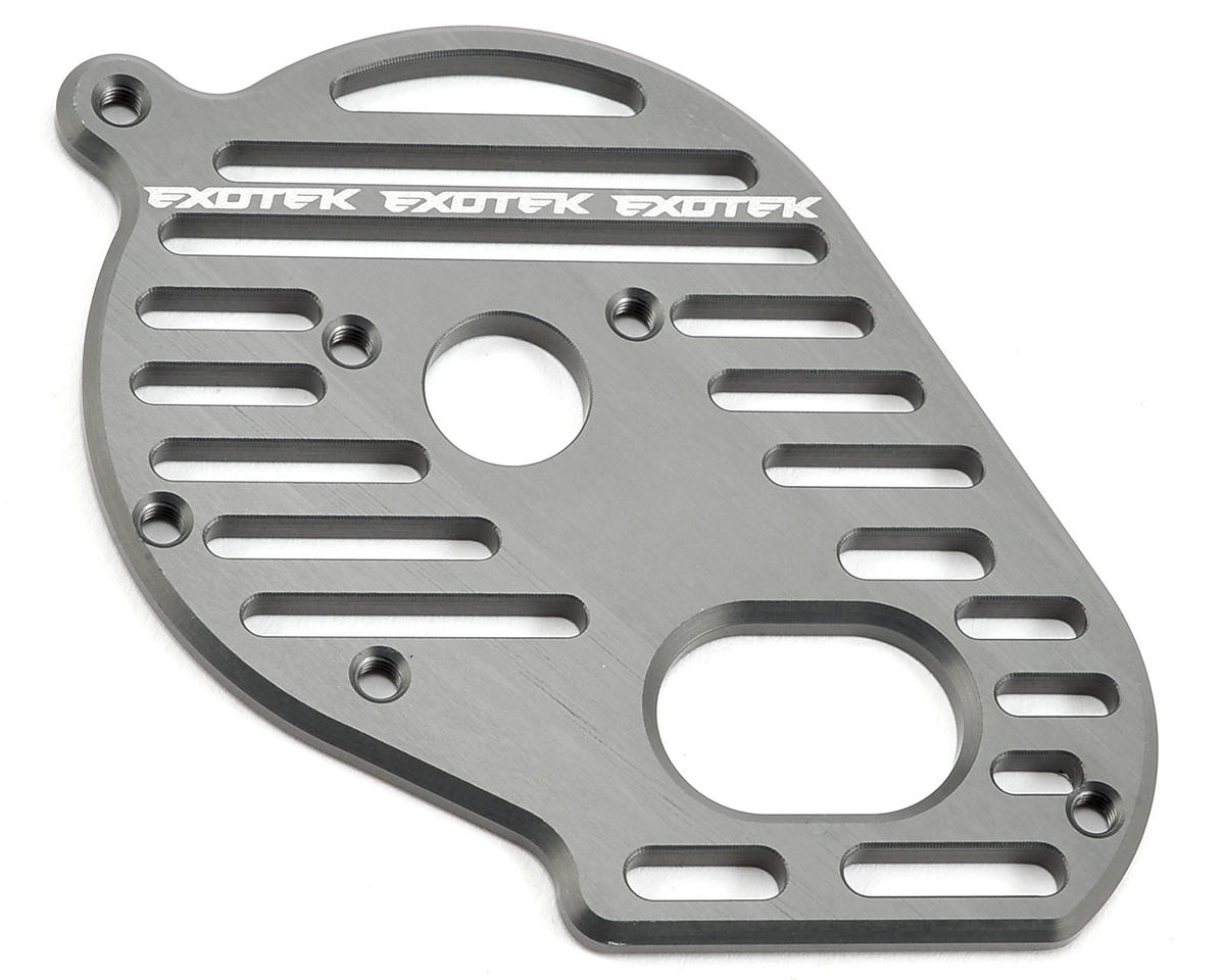 "Exotek TLR 22 ""Flite"" Aluminum Vented Motor Plate"