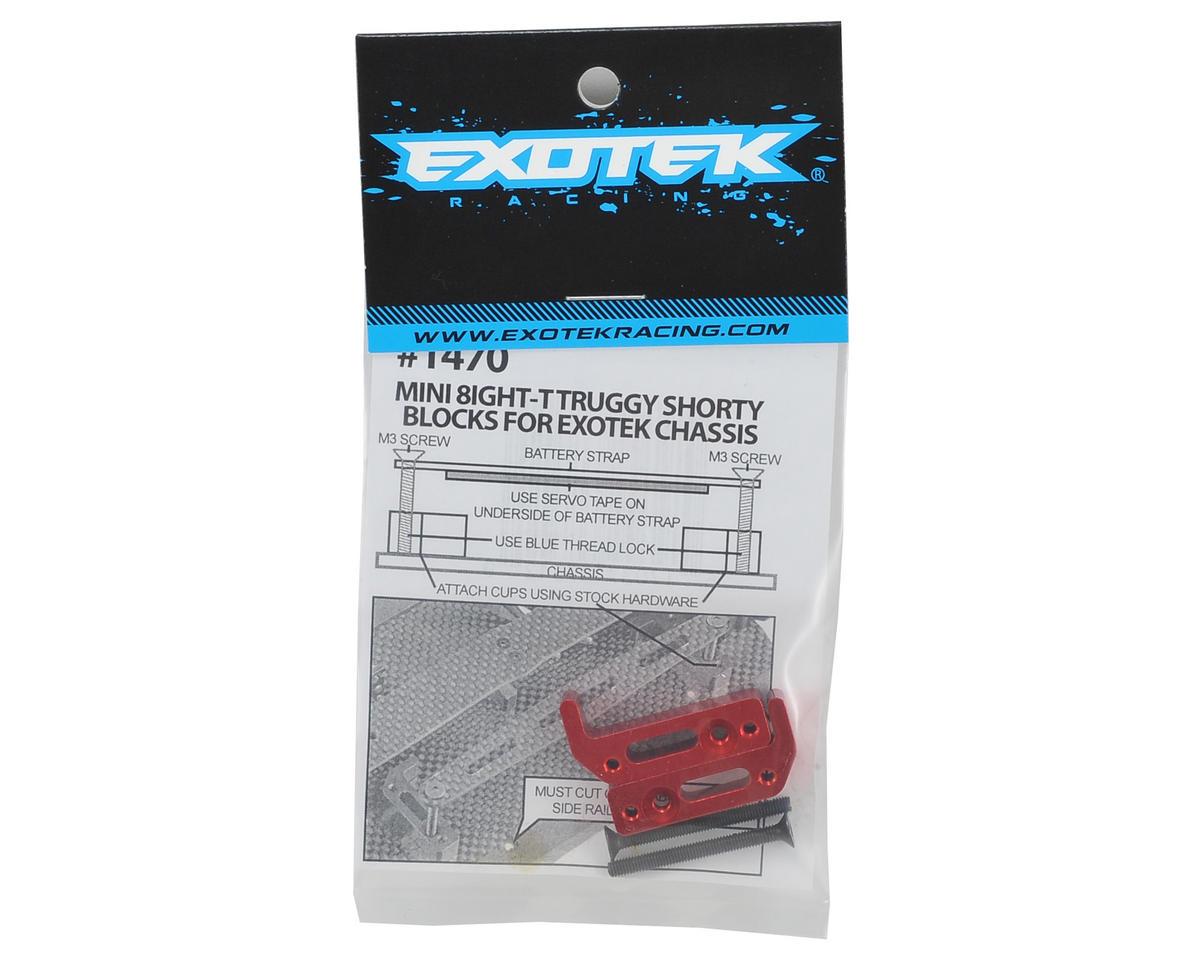 Exotek Racing Mini 8IGHT-T Shorty LiPo Block Set (Exotek Chassis)
