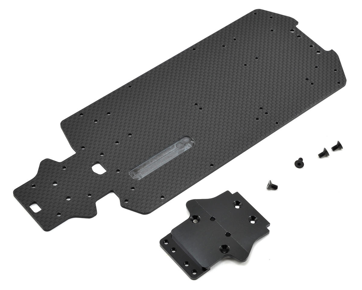 Exotek Racing Losi Mini 8IGHT-T Carbon Bottom Plate Set