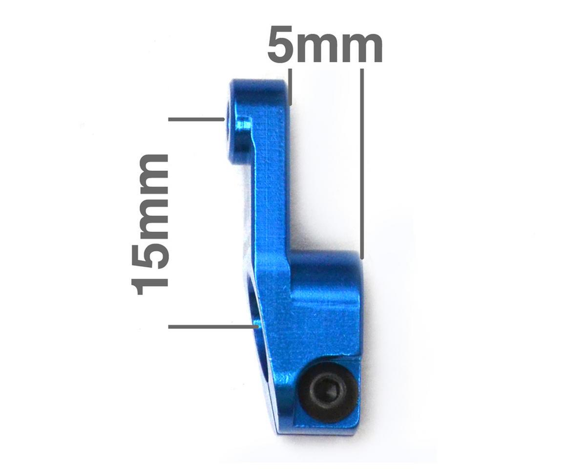 Exotek Racing Aluminum AE HD Servo Horn (Blue) (25T - Futaba/Savox/ProTek)