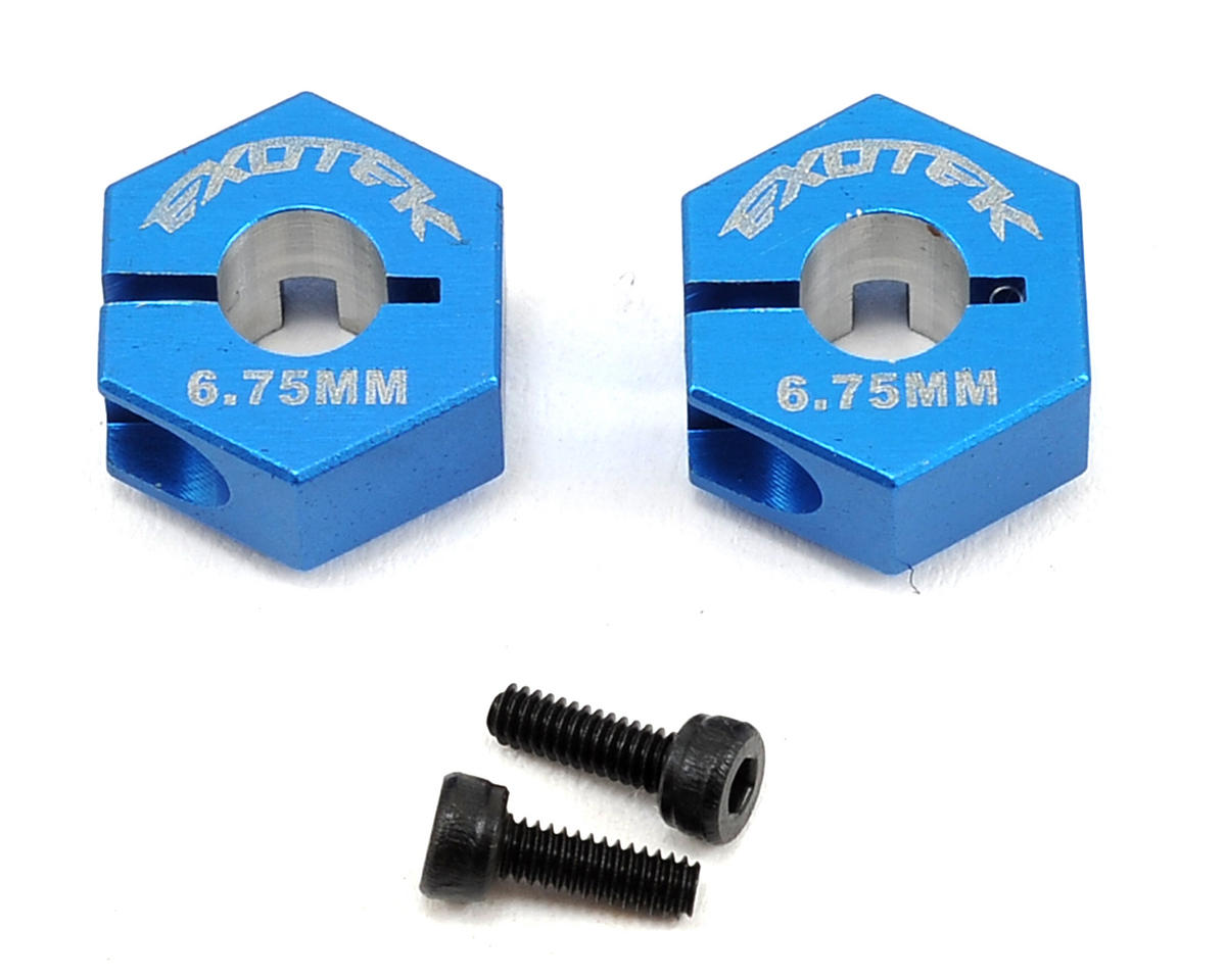 Exotek B6/B5M 12mm Rear Hex (HD Axle) (Blue)