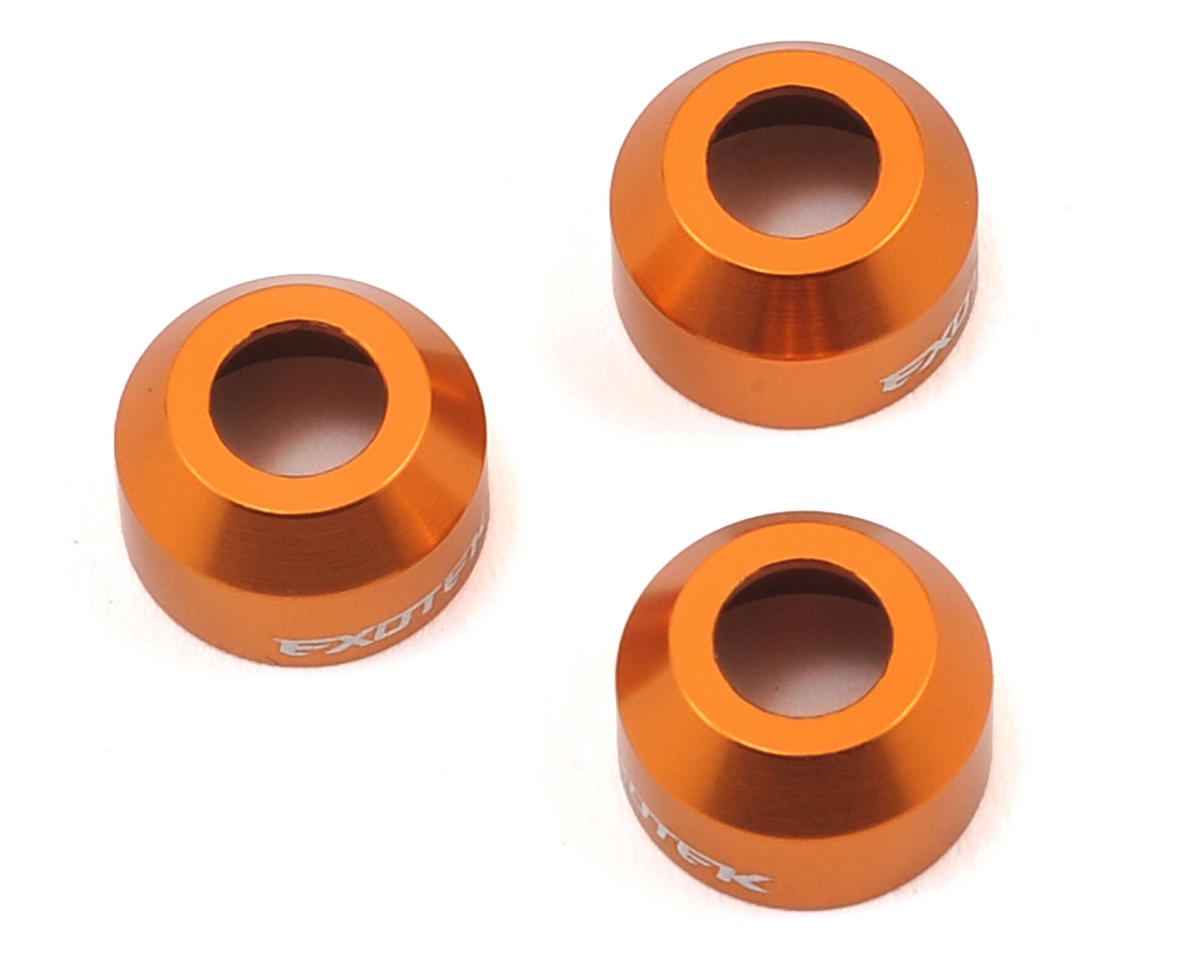 Exotek Racing XB2/XB4 Aluminum CVD Safety Collar (Orange) (3)