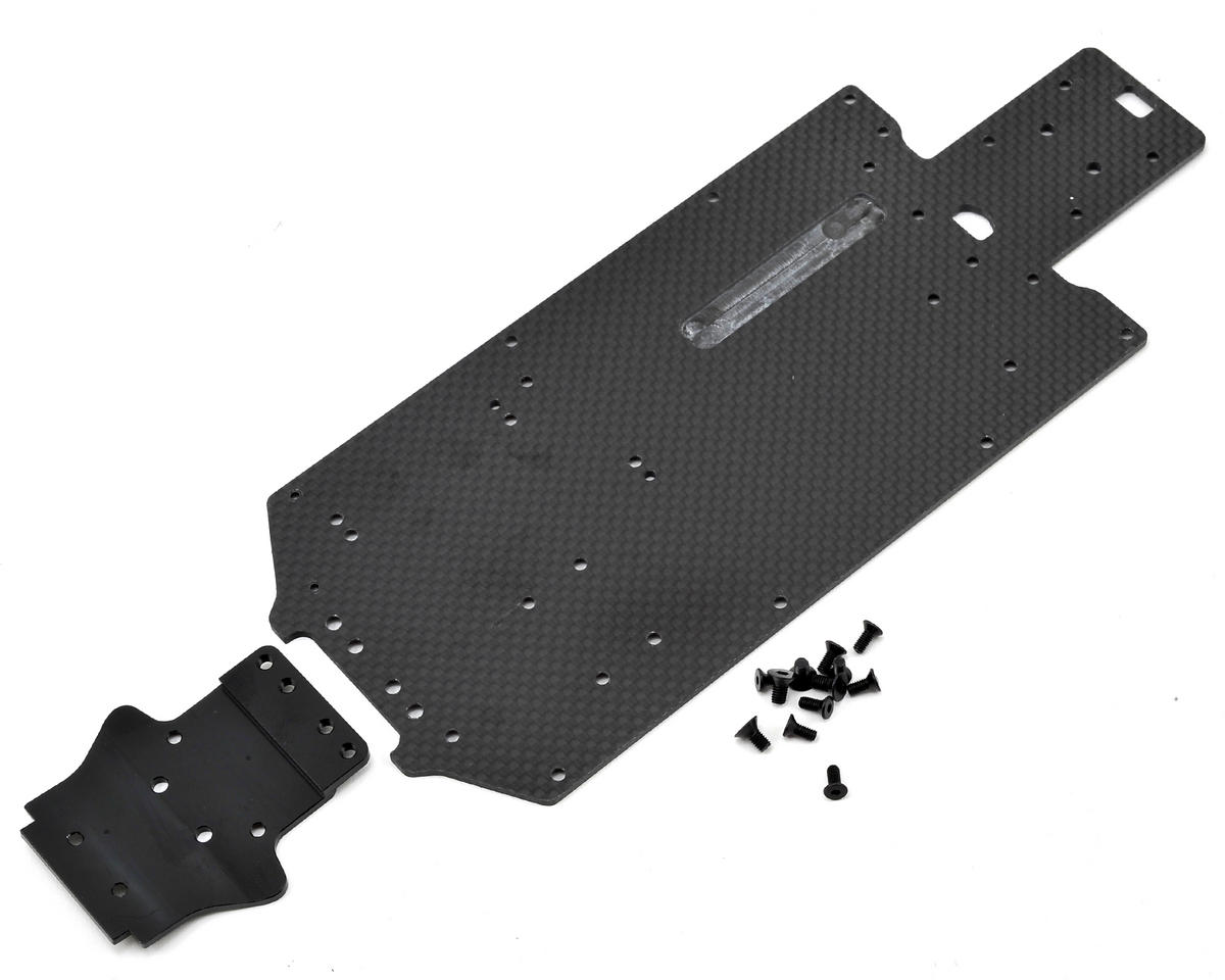 Exotek Mini 8IGHT Rally/Desert Truck Carbon Bottom Plate (Losi Desert 4wd)