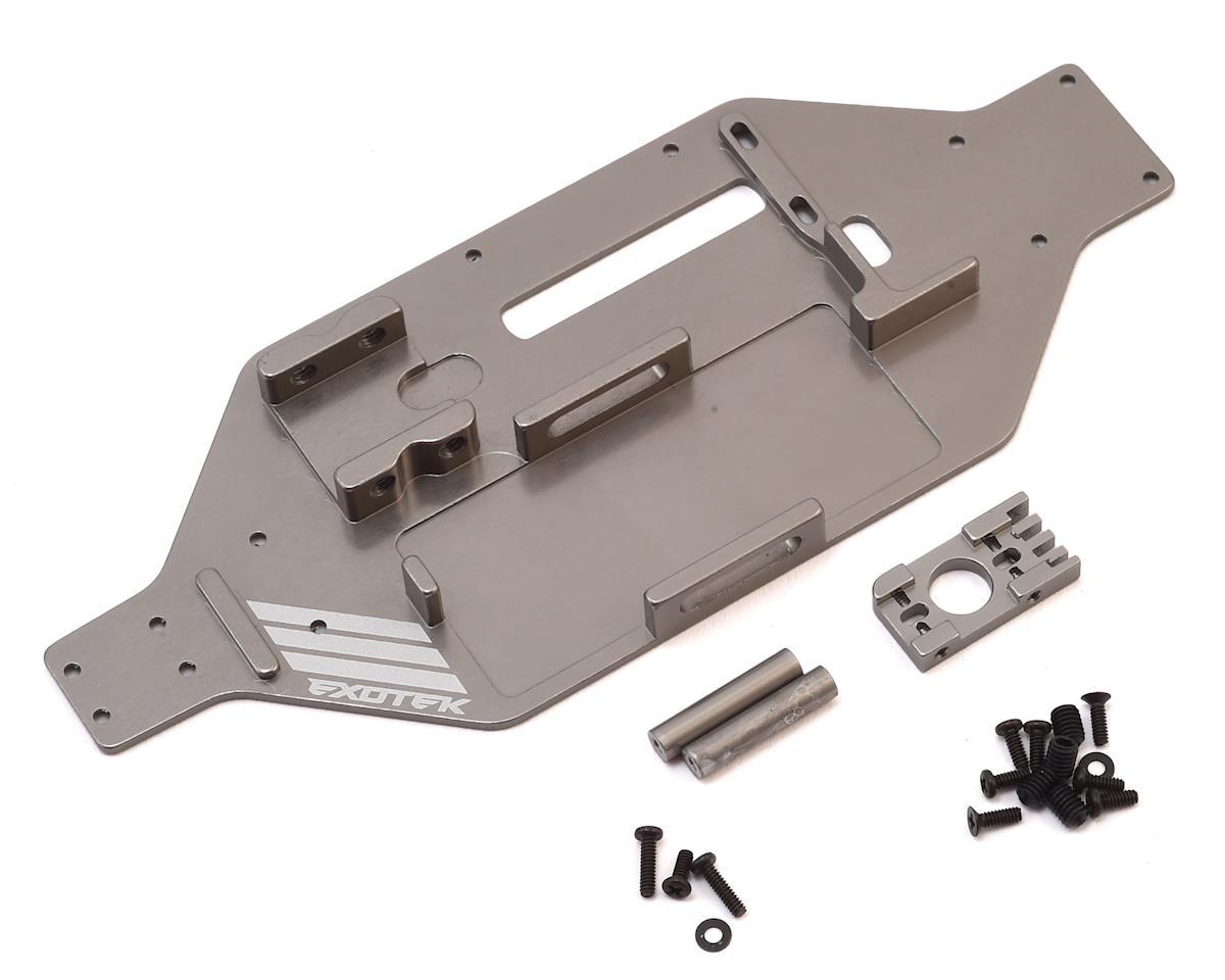 Exotek Micro SCTE/Rally Micro-Tek Chassis Conversion (Gun Metal)