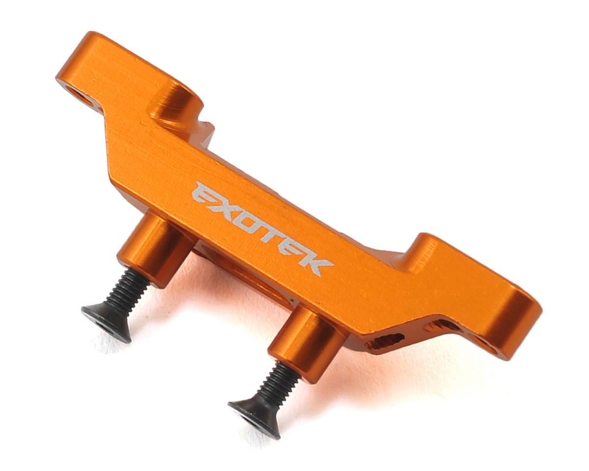 Exotek Racing XB2 Aluminum Front Roll Center Mount (Orange)