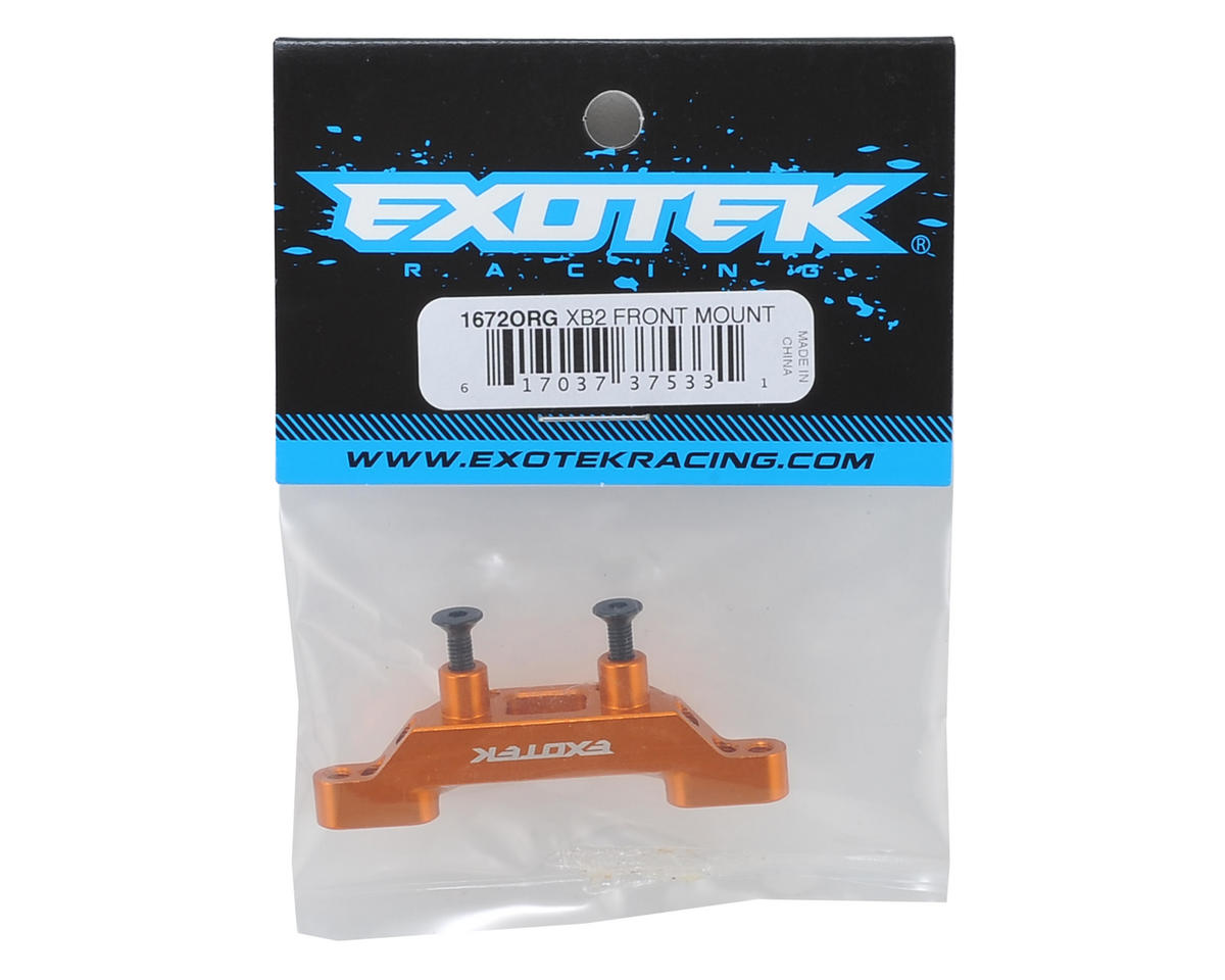 Exotek Racing XB2 Aluminum Front Roll Center Mount (Orange)