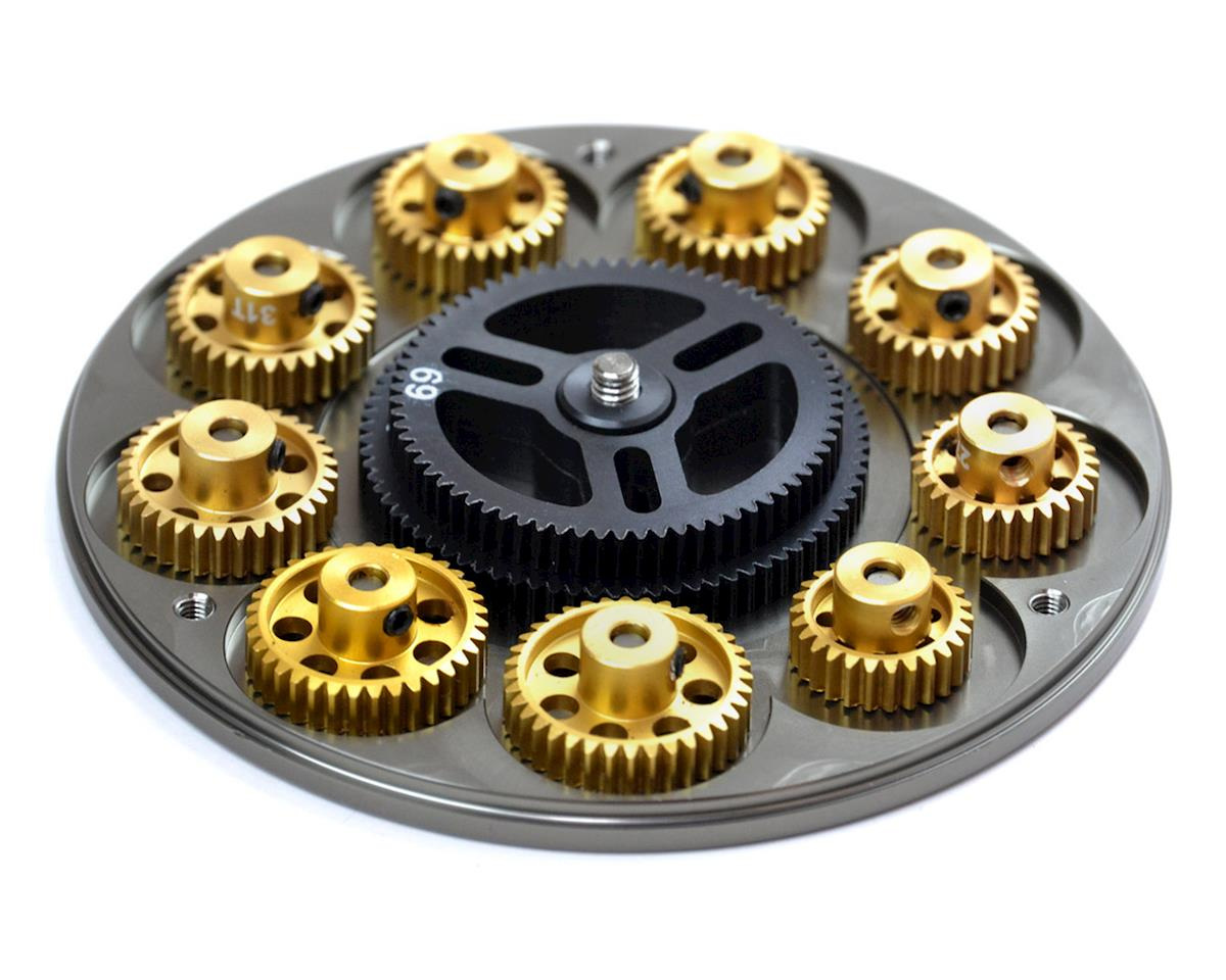 Exotek Racing G.LOK Gear Locker Pinion & Spur Gear Case w/Parts Tray (Gun Metal)