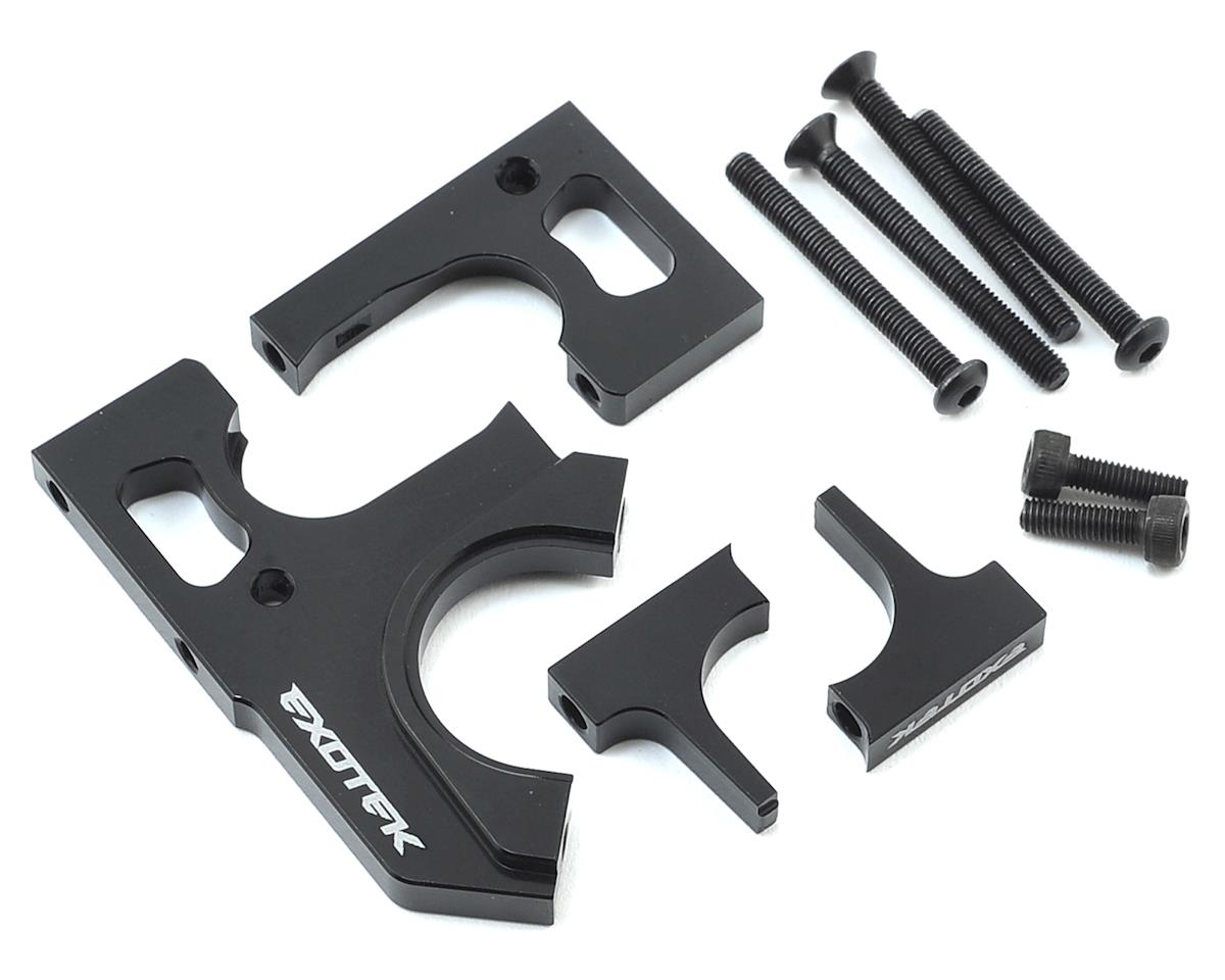 Exotek Racing HB D413 4-Piece Motor Plate Set