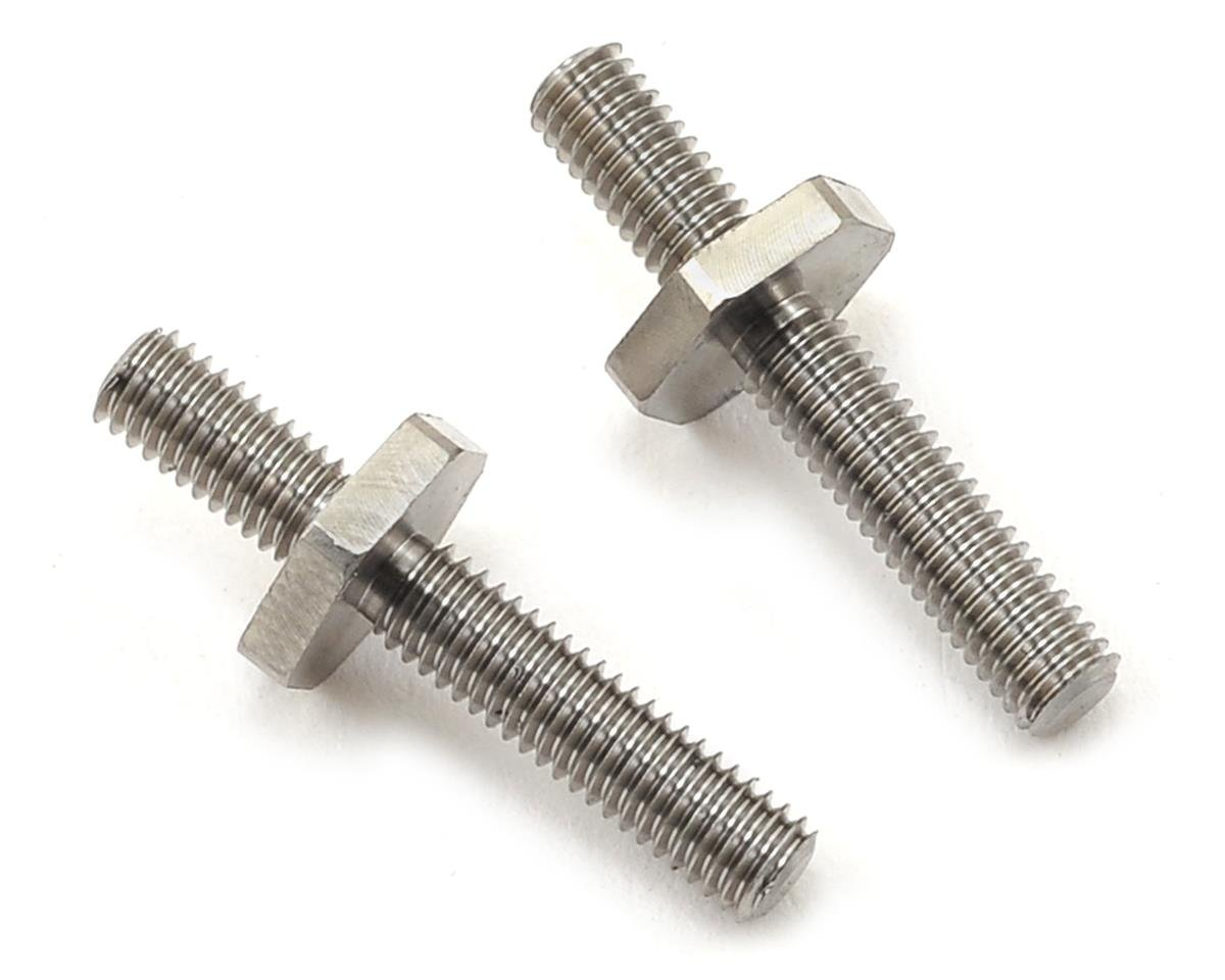 B6/B6D Titanium Battery Tray Screws by Exotek