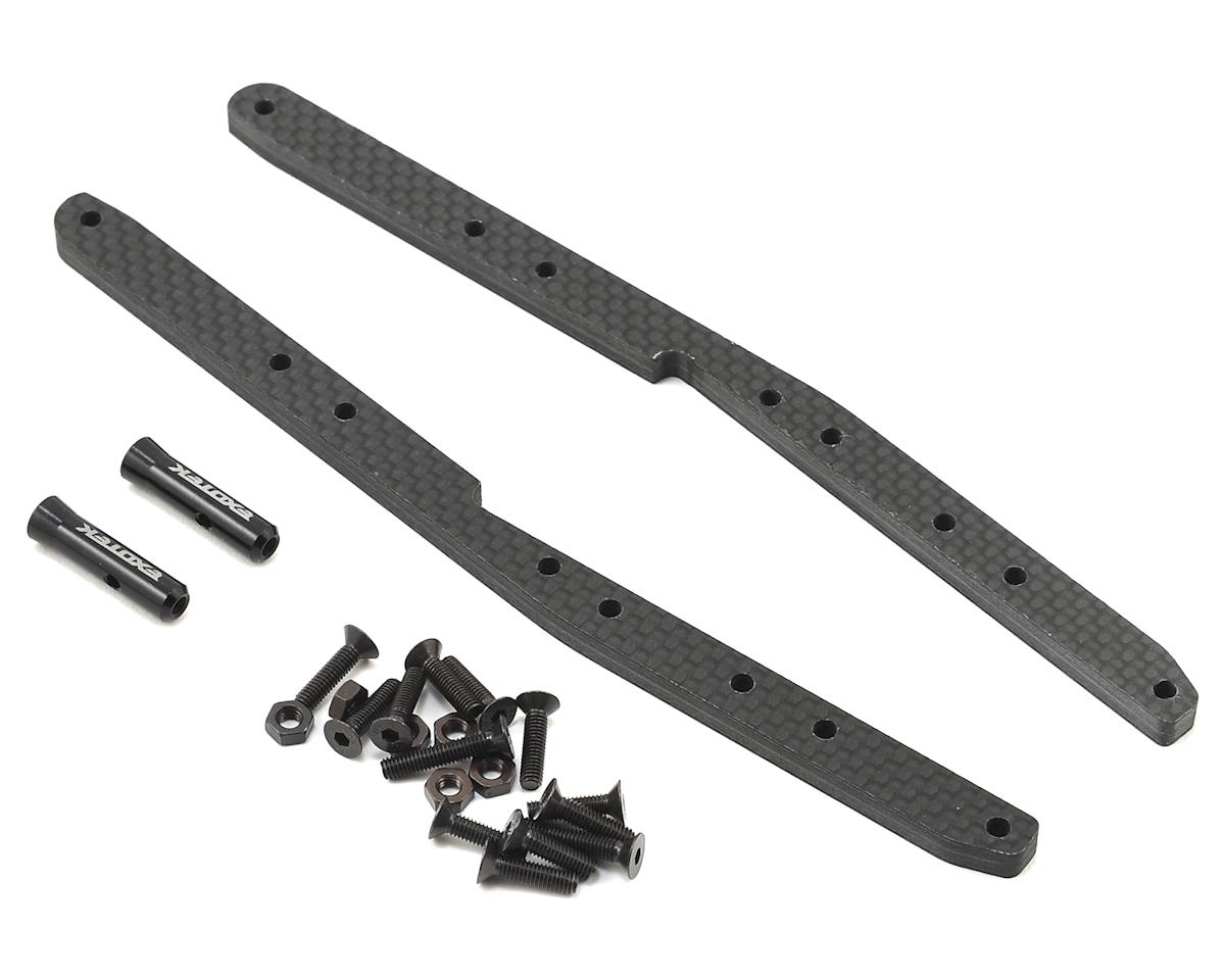 Exotek Racing D216 Carbon Fiber Chassis Rail Set