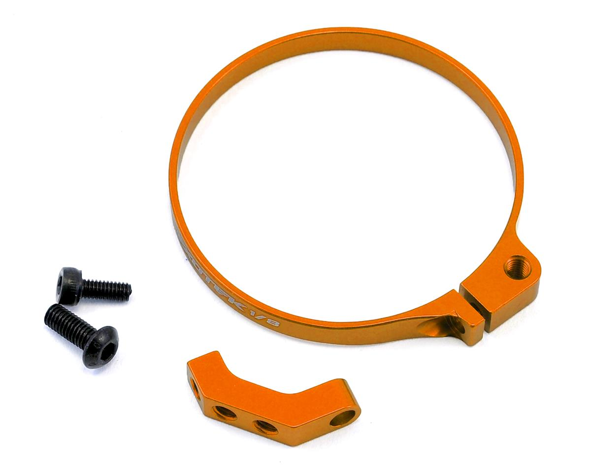 Exotek 1/8 E-Buggy Clamp On Fan Mount (Orange) (Losi 8IGHT-E 4.0)