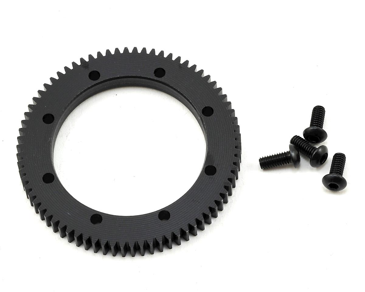 48P XB4 Center Gear Differential Spur Gear (74T) (Spec Racing) by Exotek