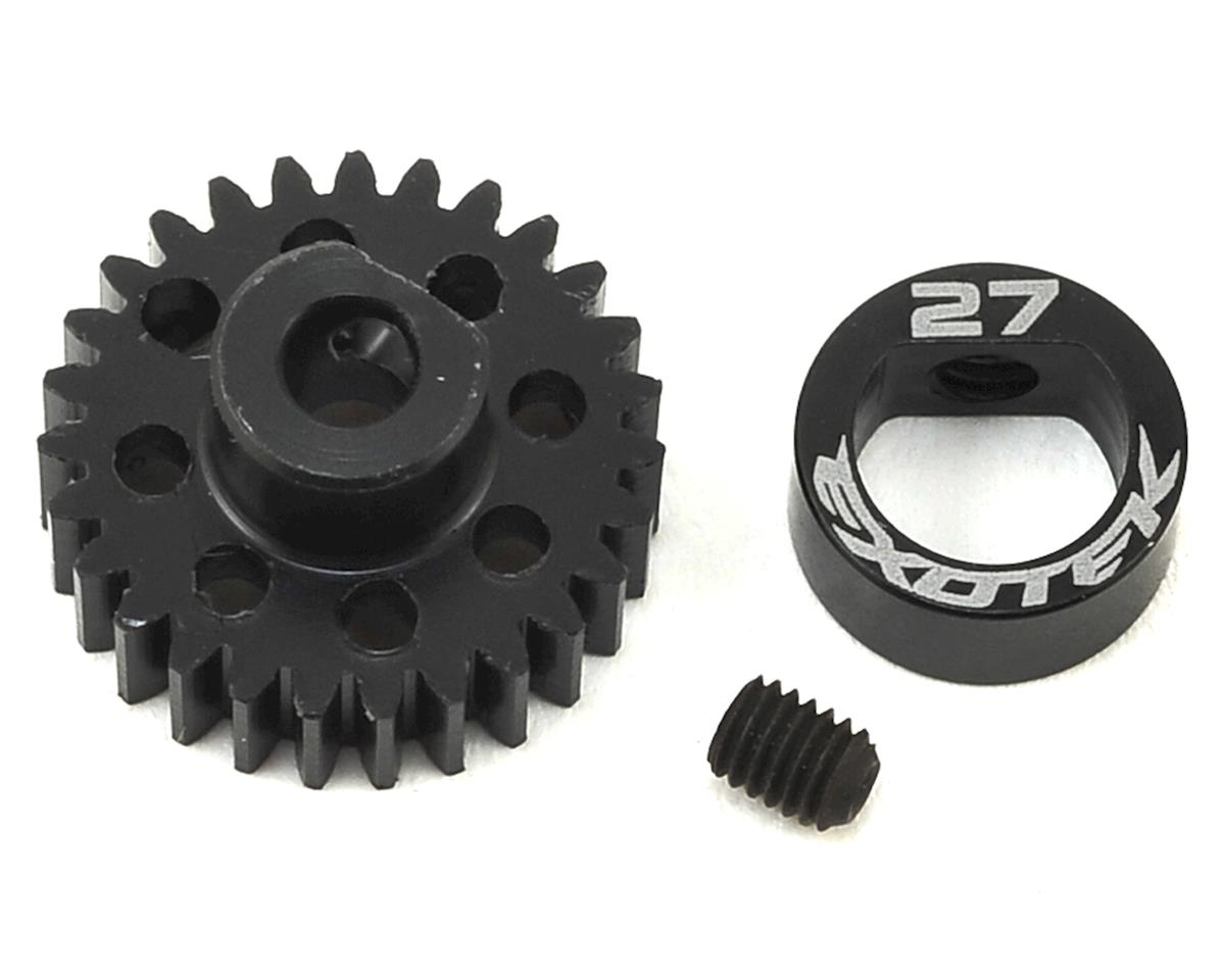 Exotek Flite 48P POM Pinion Gear w/Alloy Collar (3.17mm Bore) (27T)
