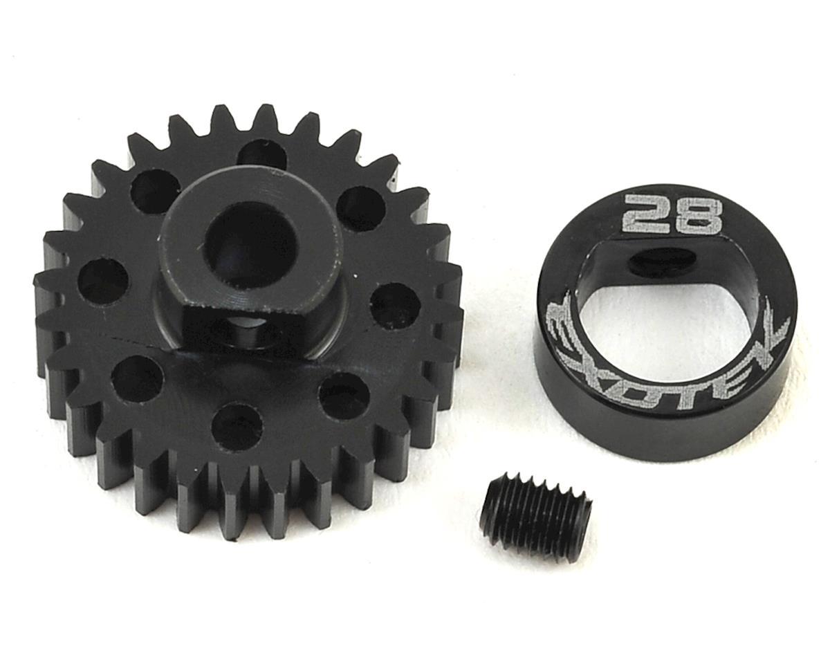 Exotek Flite 48P POM Pinion Gear w/Alloy Collar (3.17mm Bore) (28T)
