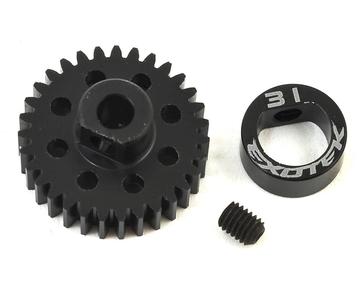 Exotek Flite 48P POM Pinion Gear w/Alloy Collar (3.17mm Bore) (31T)