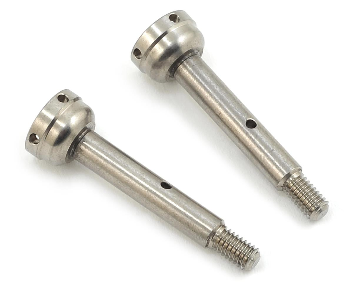 22 4.0 Titanium Flite Rear Axle (2) by Exotek