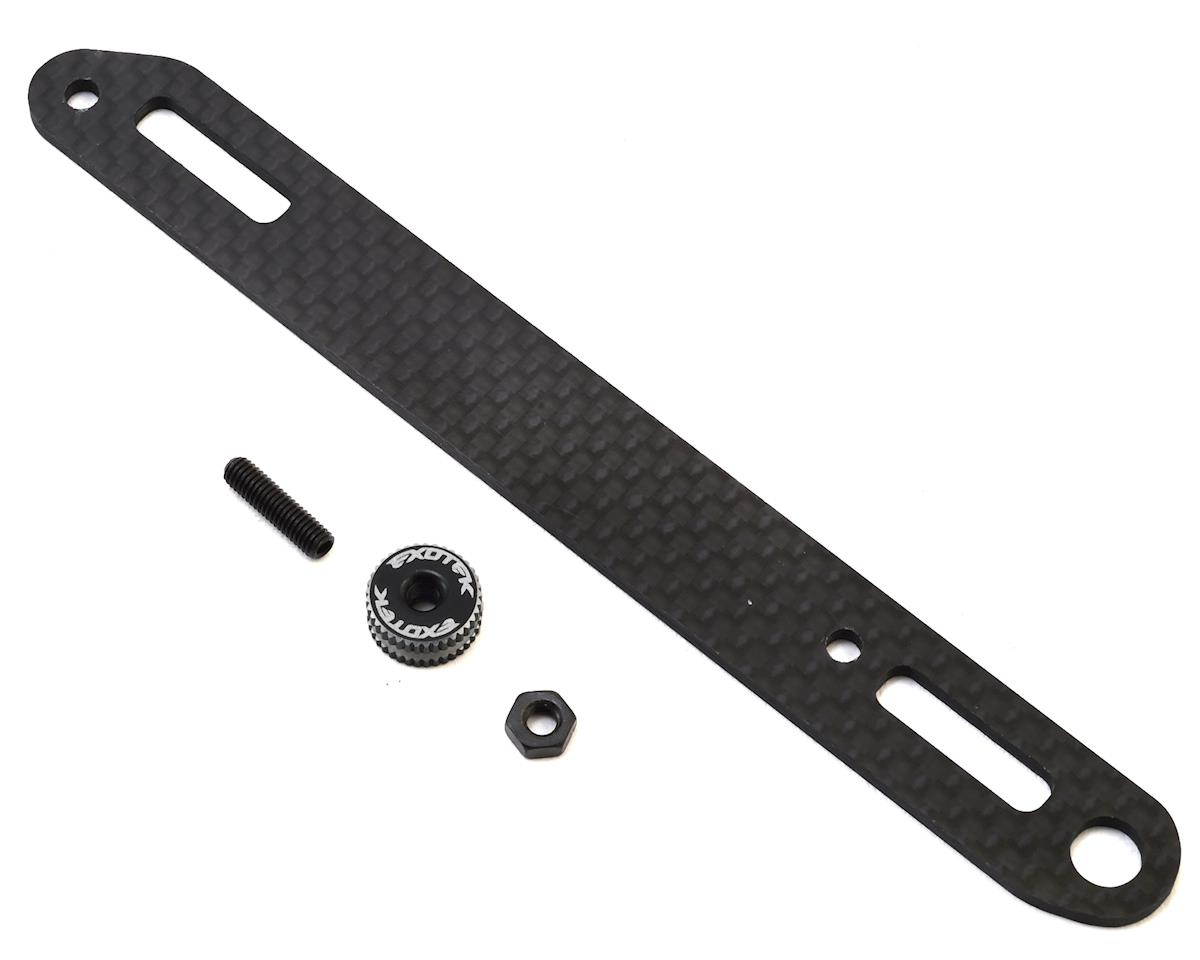XB4 Carbon Fiber Battery Strap by Exotek