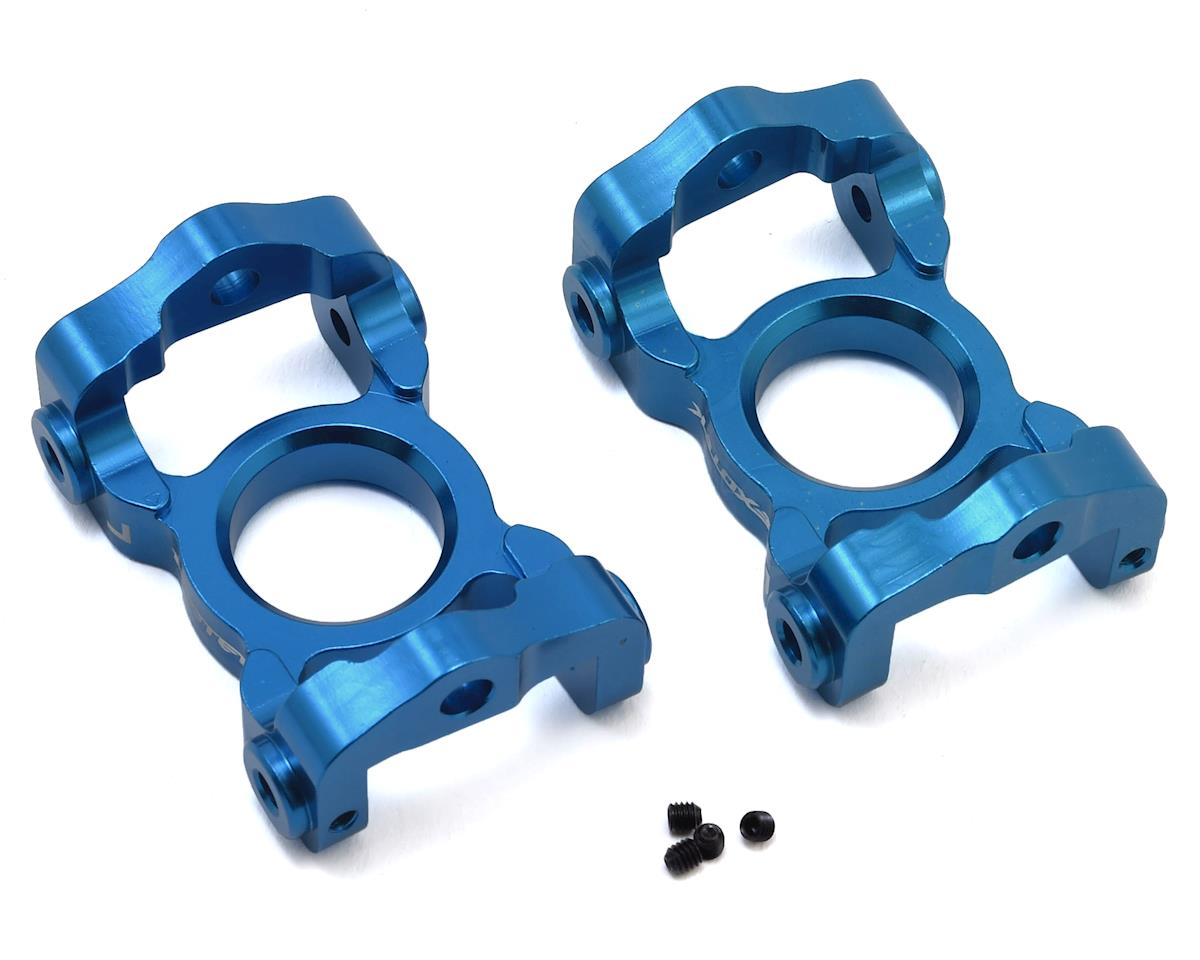 Exotek Losi LST 3XL Aluminum Front C Hubs (Blue) (2)