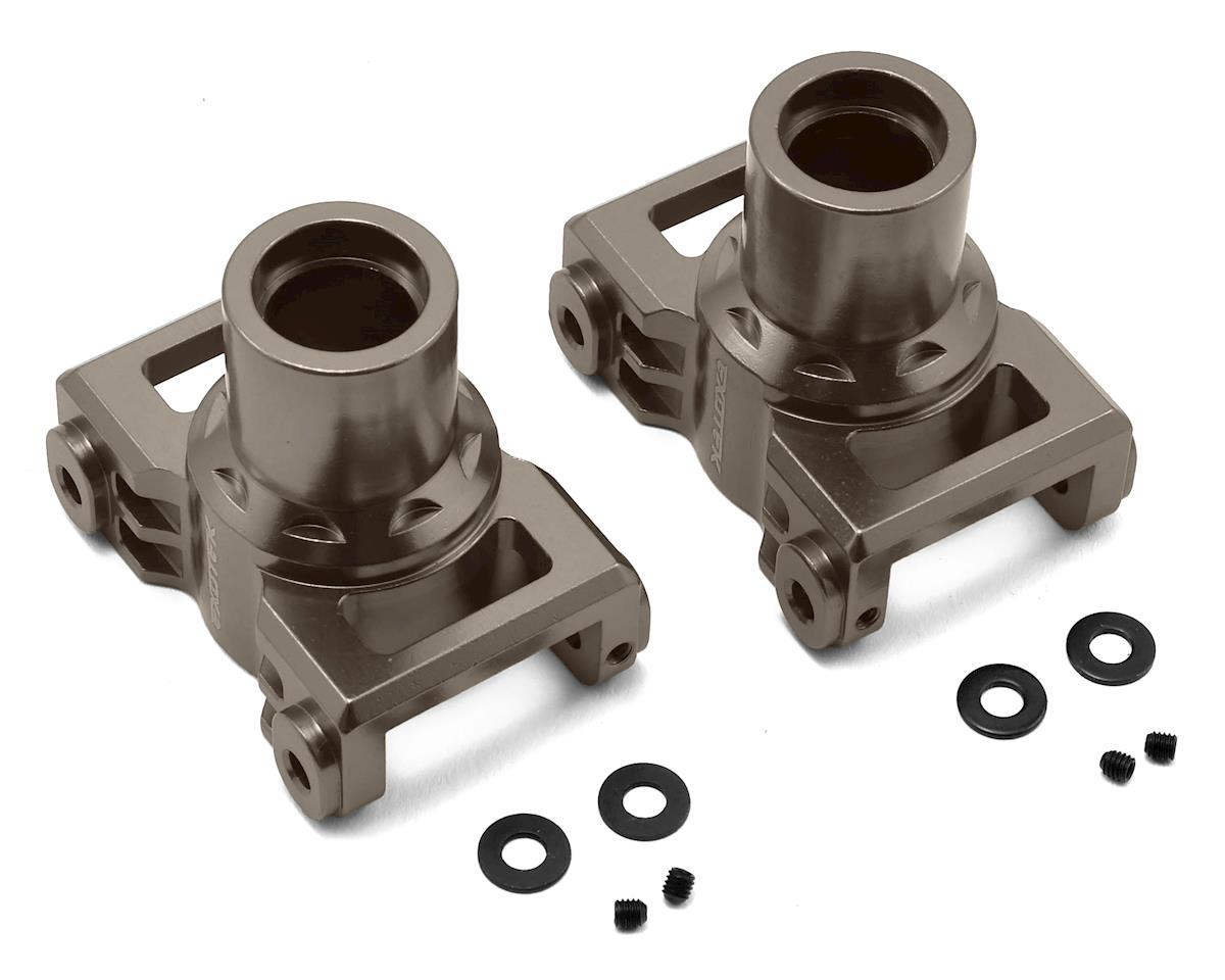 Exotek Losi LST 3XL Aluminum Rear Hubs (Gun Metal) (2)