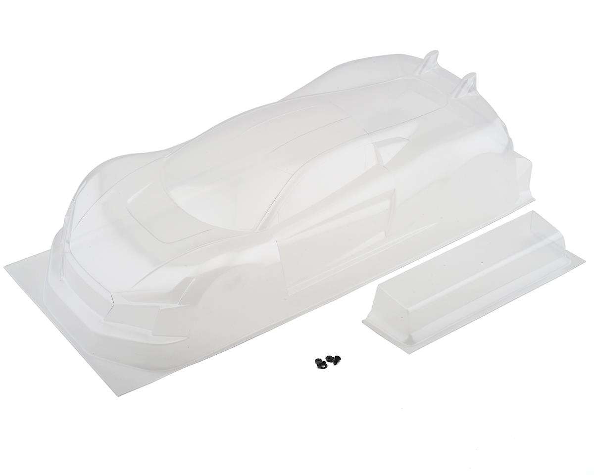 190mm USGT R·Tek 1/10 Touring Car Sedan Body w/Wing (Clear)