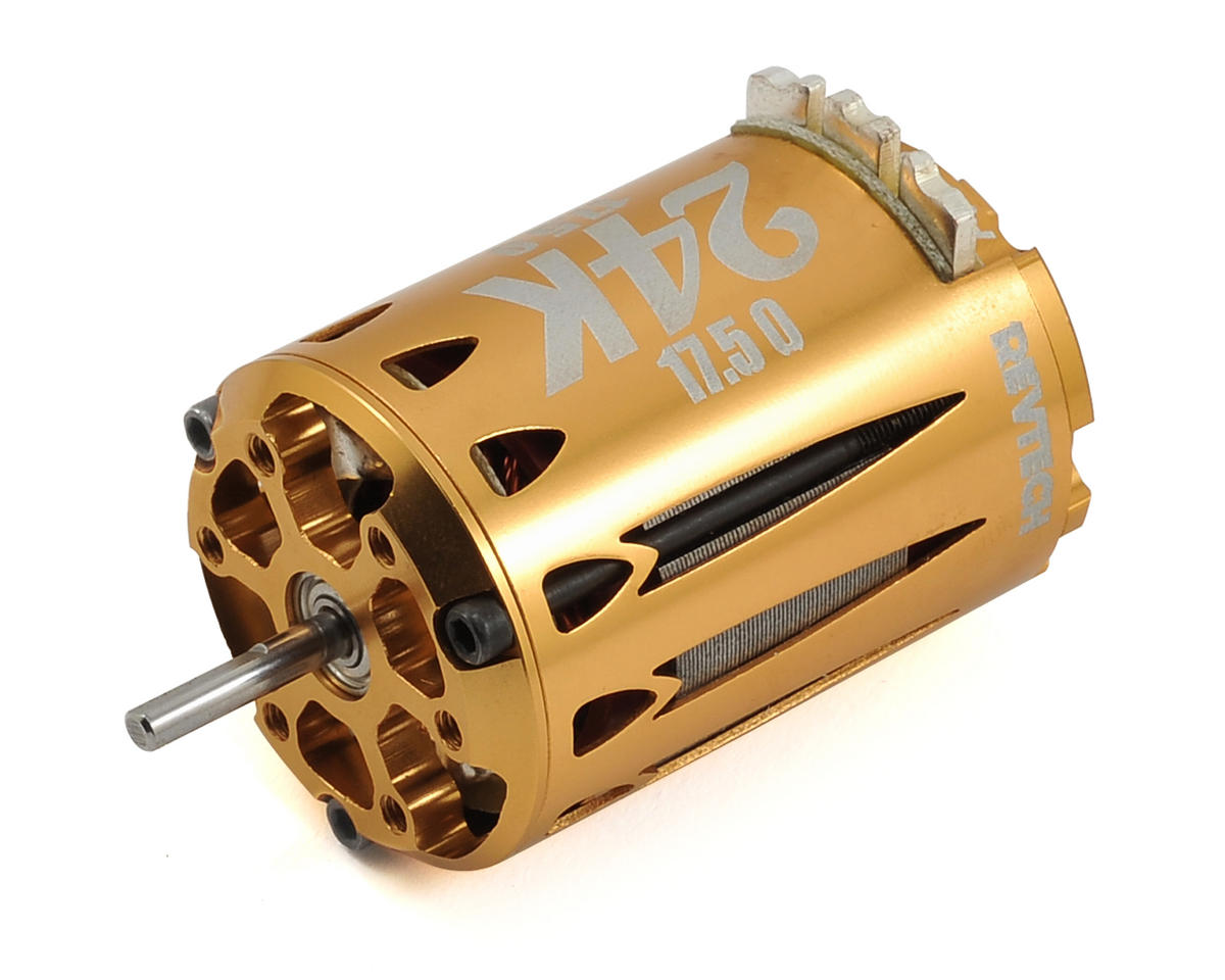"Express Motorsports 24K ""Gold Rush"" Short Stack Brushless Motor (17.5T)"