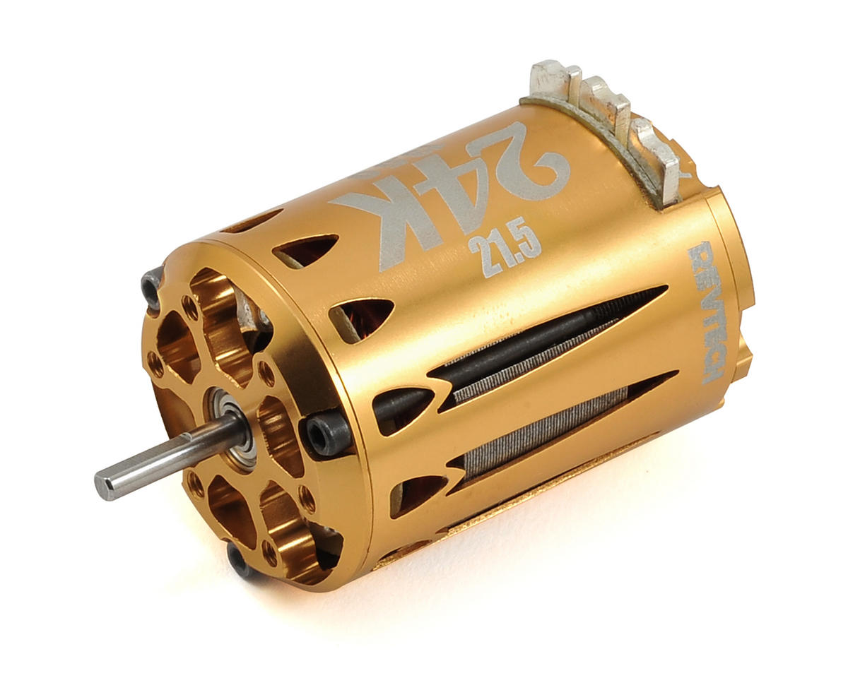 "Express Motorsports 24K ""Gold Rush"" Short Stack Brushless Motor (21.5T)"